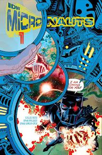 Les Micronauts sont à l'origine les héros d'une ligne de jouets de la ligne Mego durant les années 1976 à 1980.    Mais ils furent aussi les héros de plusieurs comics, le premier et le plus connu a été édité chez Marvel comics en 1979 jusqu'à 1986.  Après plusieurs tentatives de plusieurs éditeurs, Image comics et Devil's Due publishing, la série revient chez IDW. Le premier numéro est sorti cette semaine aux USA, écrit par Cullen Bunn et mis en image par David Baldeon.  Voici pour vous une petite preview: