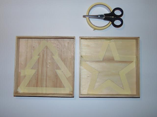 drewniane podstawki pod świece DIY
