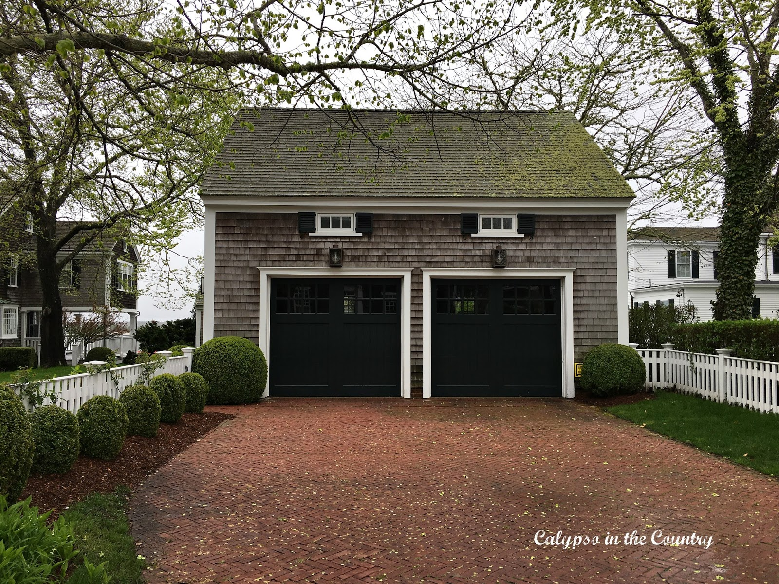 Classic Garage - Homes of Edgartown, Martha's Vineyard