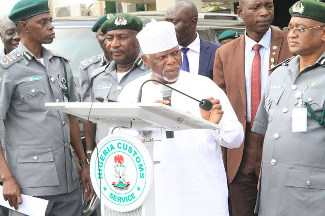 Customs impounds 13 multi-million bullet proof, 5 exotic cars in Abuja
