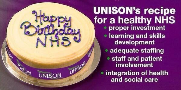 John's Labour Blog: Happy Birthday NHS