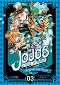JOJO'S BIZARRE ADVENTURE Stardust Crusaders vol.3