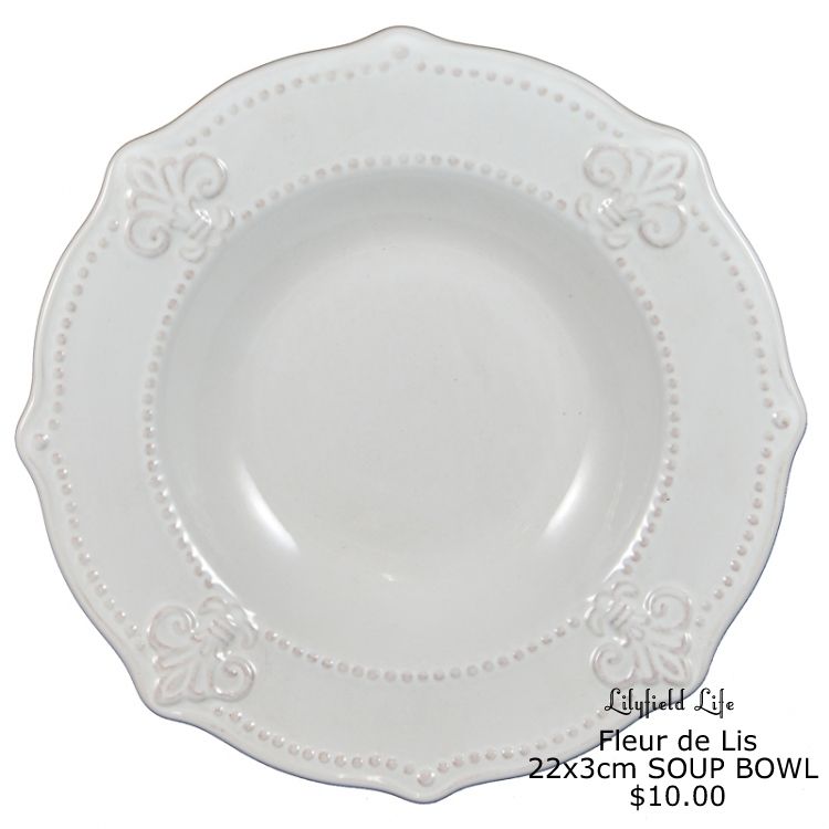 Lilyfield Life Fleur De Lis Dinnerware For  sc 1 st  Migrant Resource Network & Fleur De Lis Dinner Plate | Migrant Resource Network