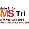 MULAI 9 FEBRUARI 2016 TARIF SMS TRI BERUBAH