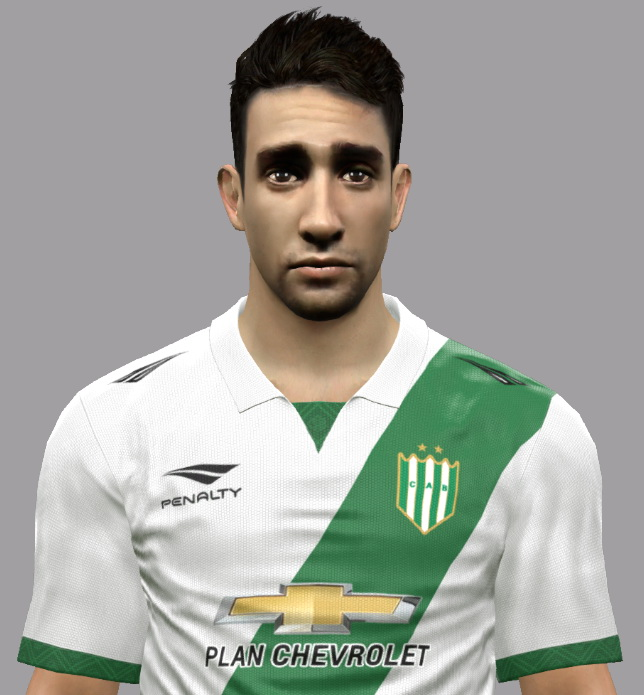 PES 2017 Emanuel Cecchini (Club Atlético Banfield) face by Nahue