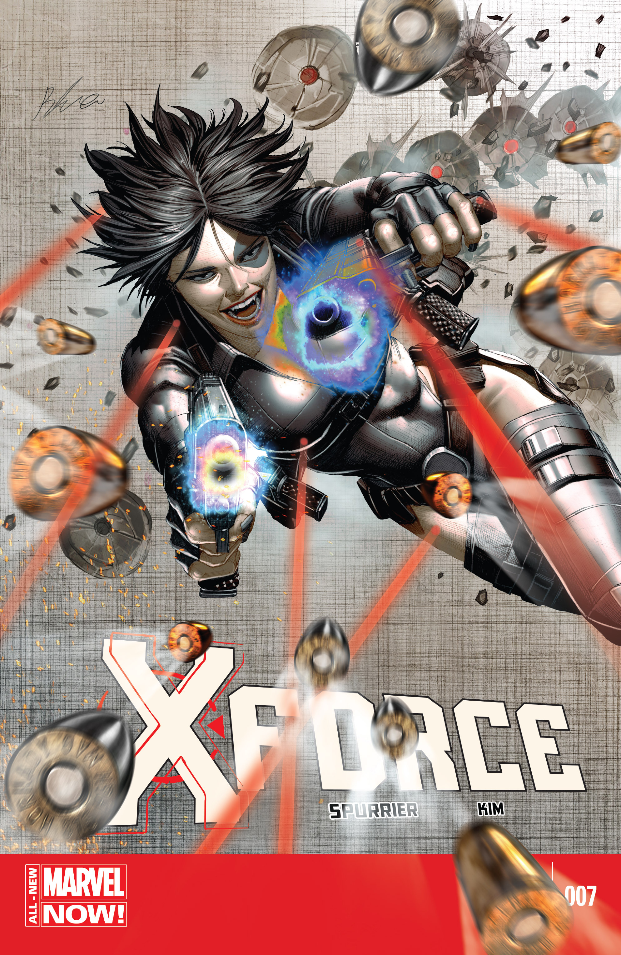 Read online X-Force (2014) comic -  Issue #7 - 1