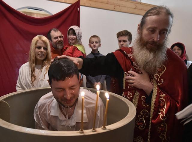 ИПЦ Греции: В Моравии накануне Пасхи окрестили восемь человек. ФОТО