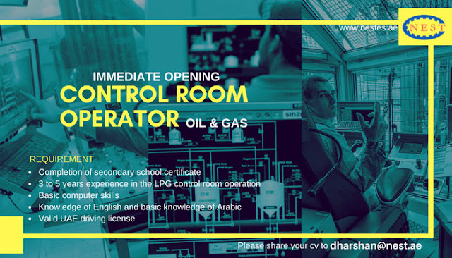 Oil and Gas - Control Room Operator Job in UAE