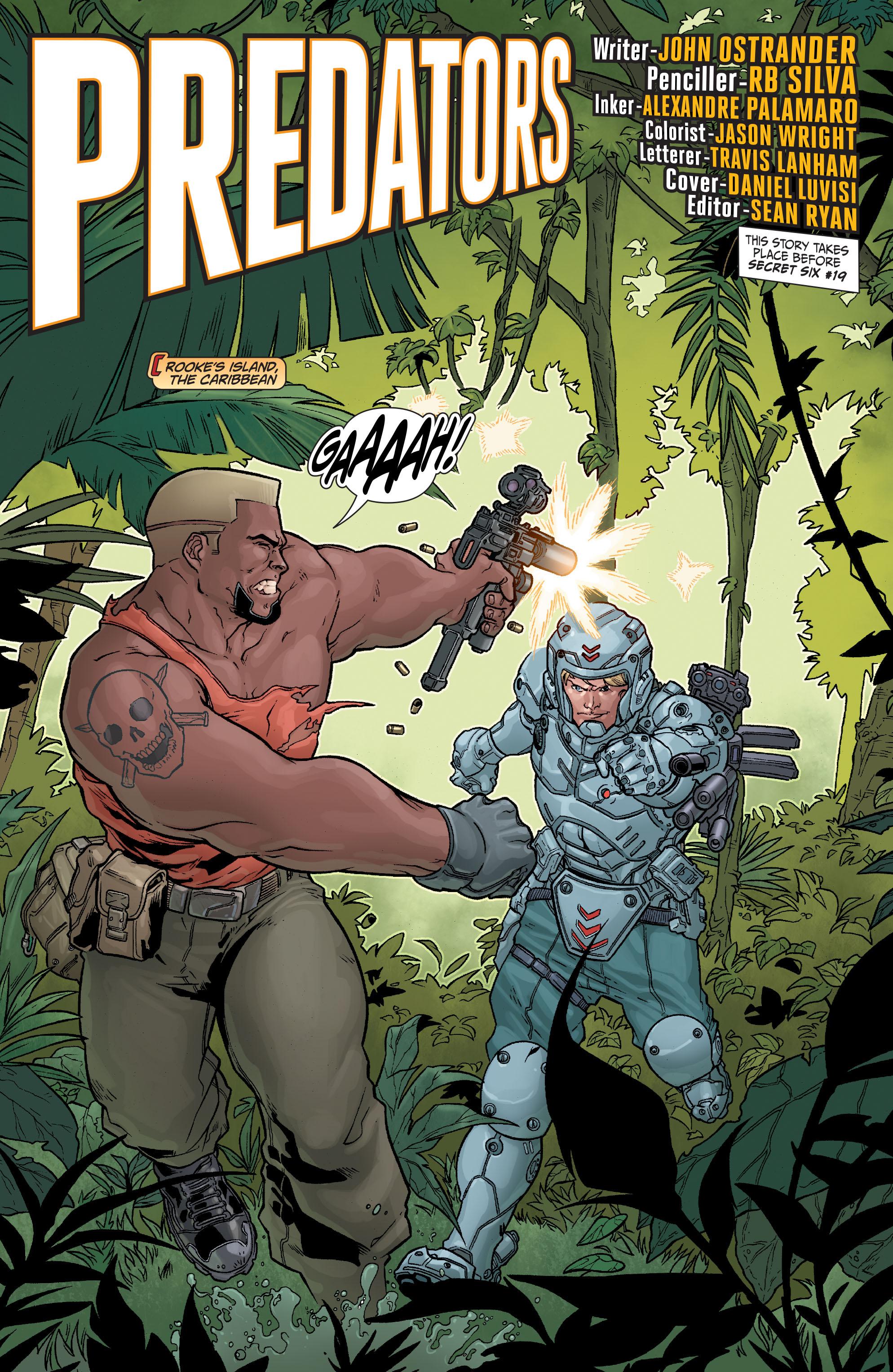 Read online Secret Six (2008) comic -  Issue #23 - 2