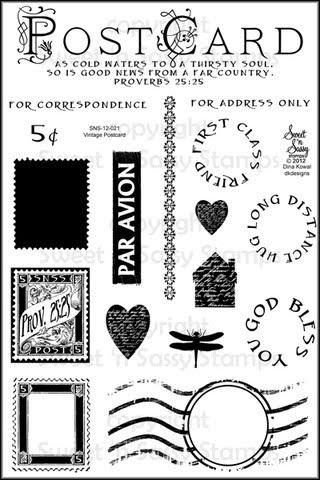 Dina Kowal Creative: New stamps....