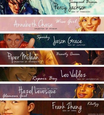 Percy Jackson Fans: The Great Prophecy and the Seven