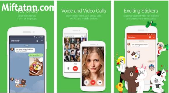 Aplikasi Chatting Terbaik Android Line Apk Terbaru