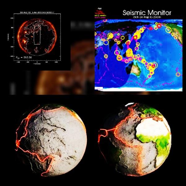 Se han registrado 15 sismos en las ultimas horas de Magnitud +5.