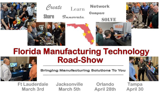 2020 Florida Manufacturing Technology Roadshow!