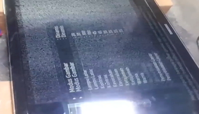 TV Lcd Samsung berbayang dan tips memperbaikinya
