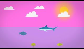Ilustrasi Air Lautan Dan Panas Matahari Dalam Proses Fase Pembentukan Awan