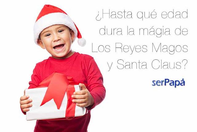 ¿Hasta qué edad dura la magia de los Reyes Magos y Santa Claus?