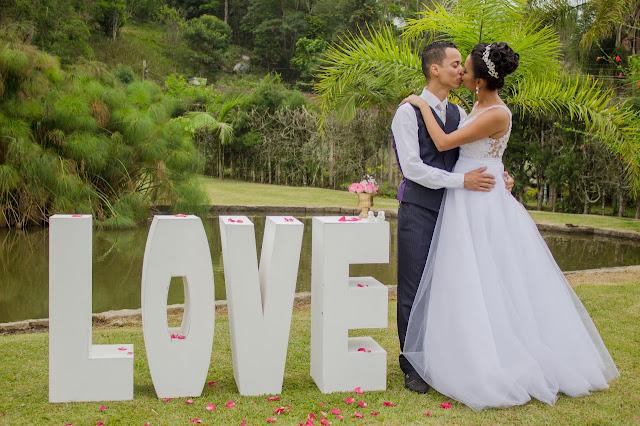 Casamento romantico