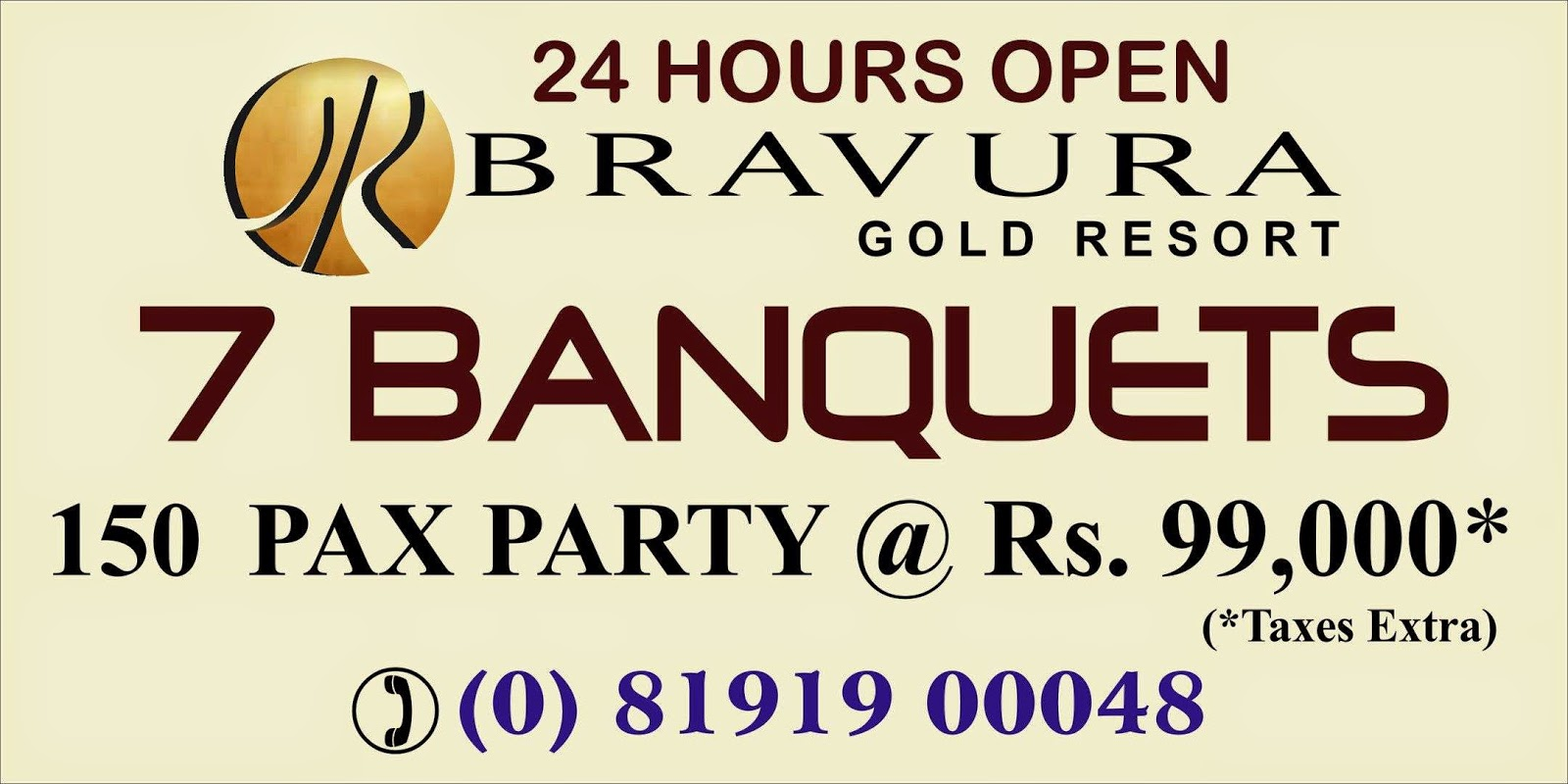 Party with Best Ambiance & Facilities