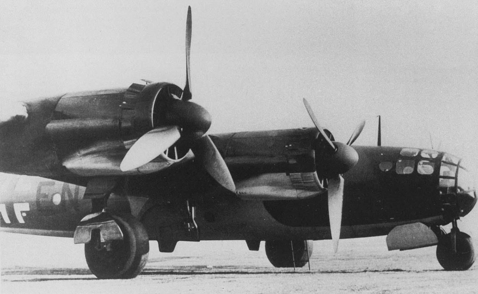 Messerschmitt Me 264 Amerika bomber, 1942.