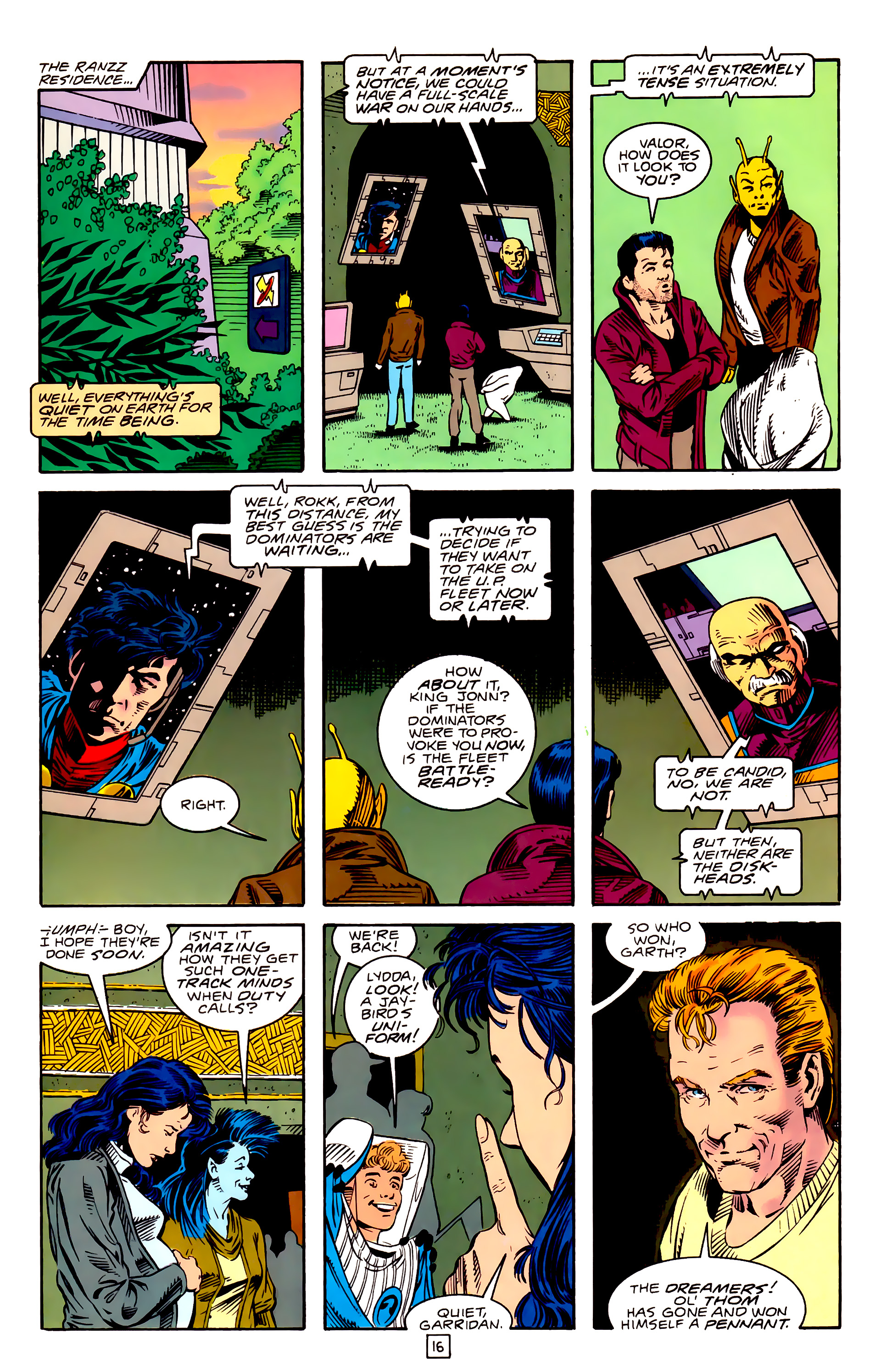 Legion of Super-Heroes (1989) _Annual_3 Page 43