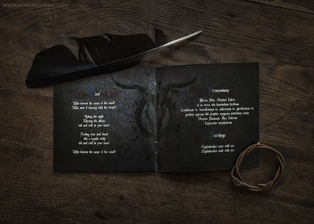 Witchcraft, new release of Trobar de Morte. (Booklet detail)