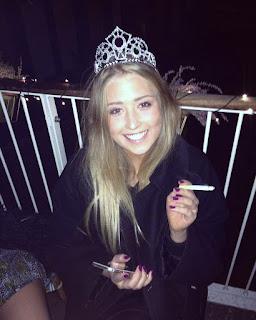 smoking princess