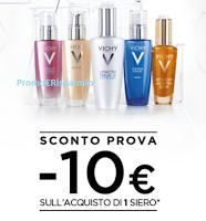 Logo Vichy ti regala un buono sconto da 10 euro