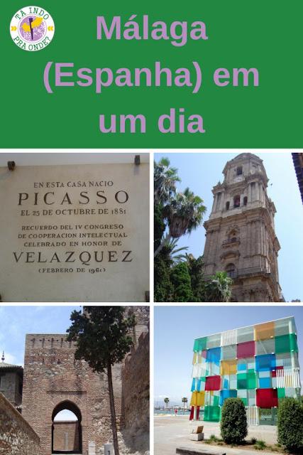 O que fazer em Málaga (Andaluzia, Espanha) em um dia?