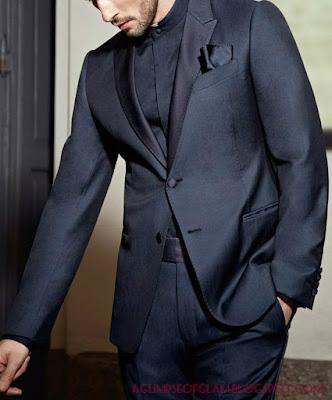 aglimpseofglam Armani suit