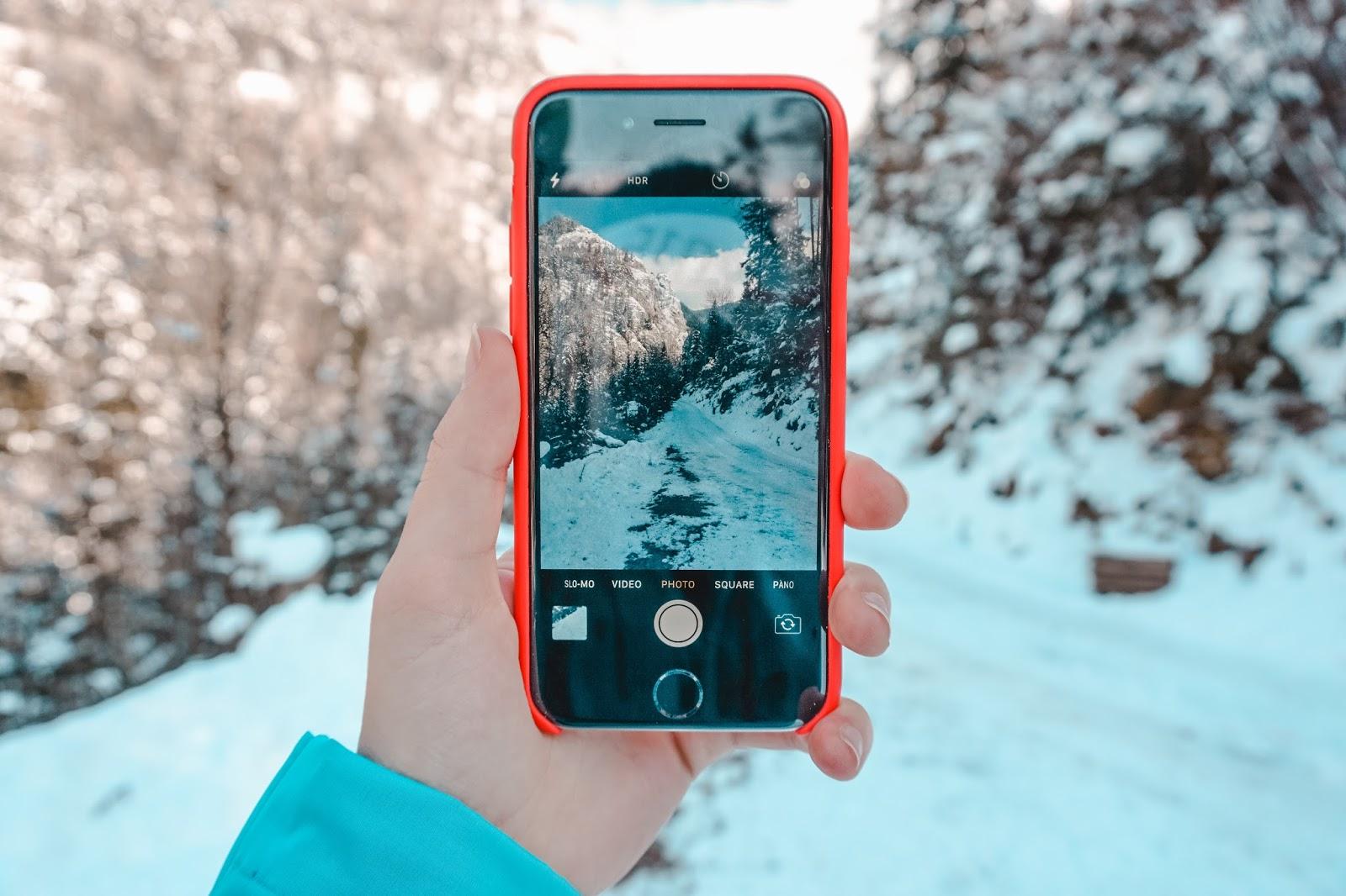 Zimowy trekking w Austrii - góra Hochlantsch