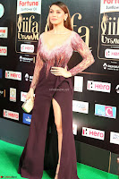 Hansika Motwani in Glittering Deep Neck Transparent Leg Split Purple Gown at IIFA Utsavam Awards 48.JPG
