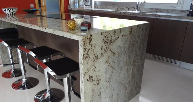Granito nacional precio metro cocina a estilo fijo for Encimeras de silestone precio por metro
