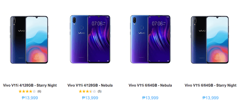 Sale Alert: Vivo slashes V11i 6GB RAM price at Argomall, down to PHP 13,999