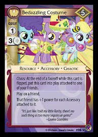 My Little Pony Bedazzling Costume Marks in Time CCG Card