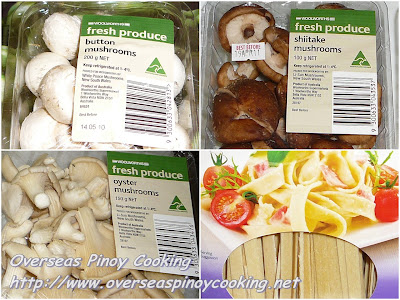 Three Kinds of Musroom