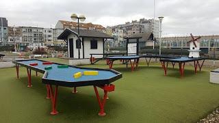 Leopoldpark Snookergolf course in Blankenberge