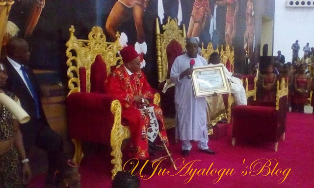 Jacob Zuma Bags Chieftaincy Title in Imo (Watch Video)