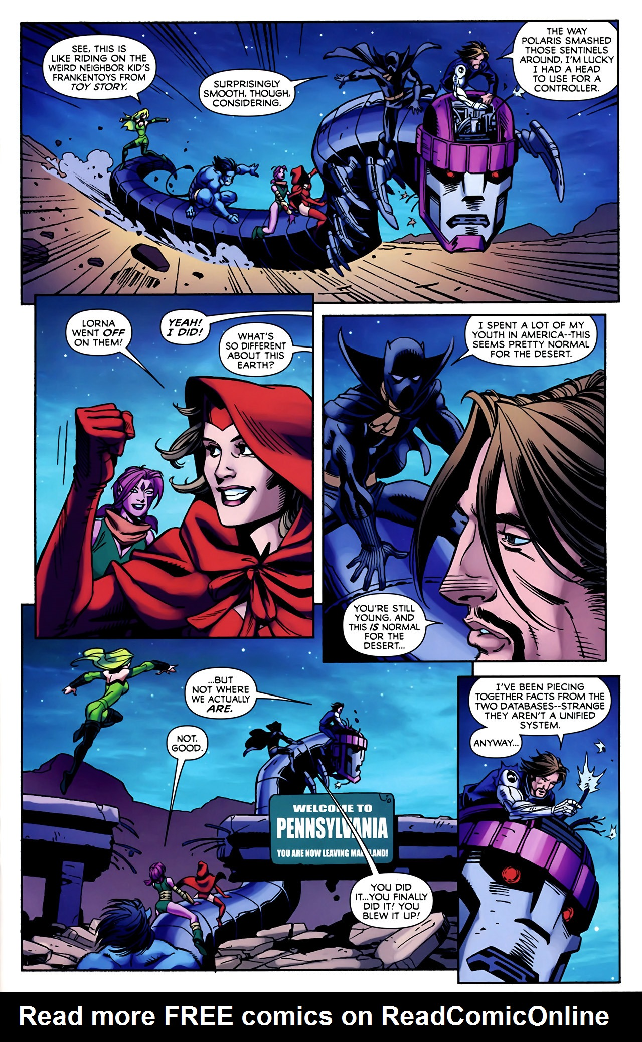 Read online Exiles (2009) comic -  Issue #4 - 11