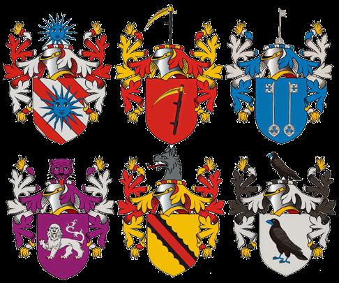 H raldie l 39 armorial des chevaliers de la table ronde - Blason chevalier table ronde ...