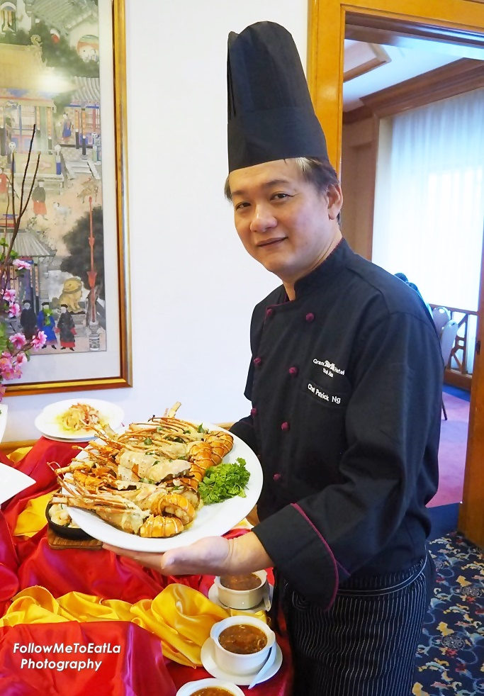 Chef Patrick Ng & Baby Lobster Meets Hai Xian Delight Promotion