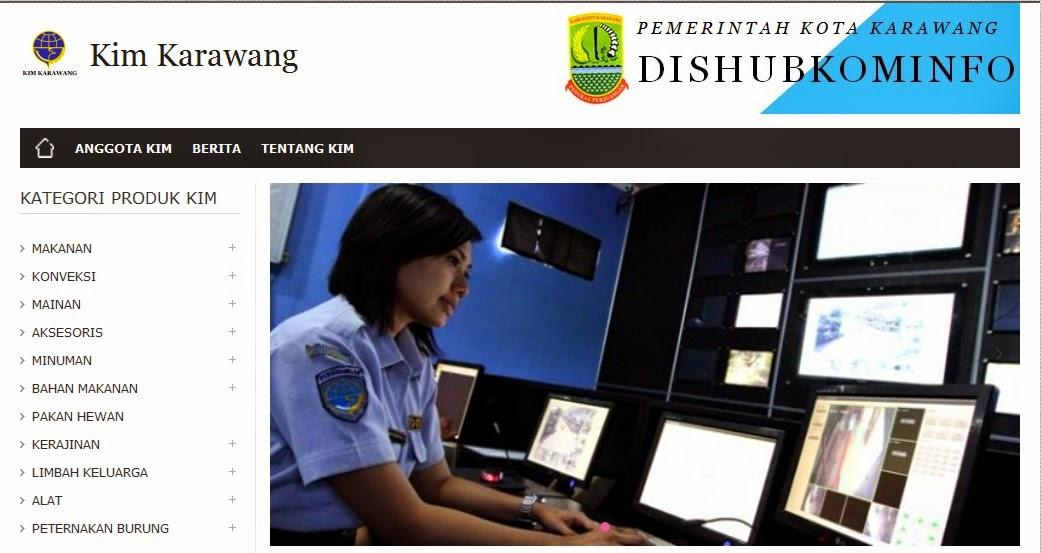 Pelatihan Website KIM Karawang