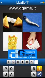 PACCHETTO 5 Soluzioni Trova la Parola - Foto Quiz con Immagini e Parole soluzione livello 7