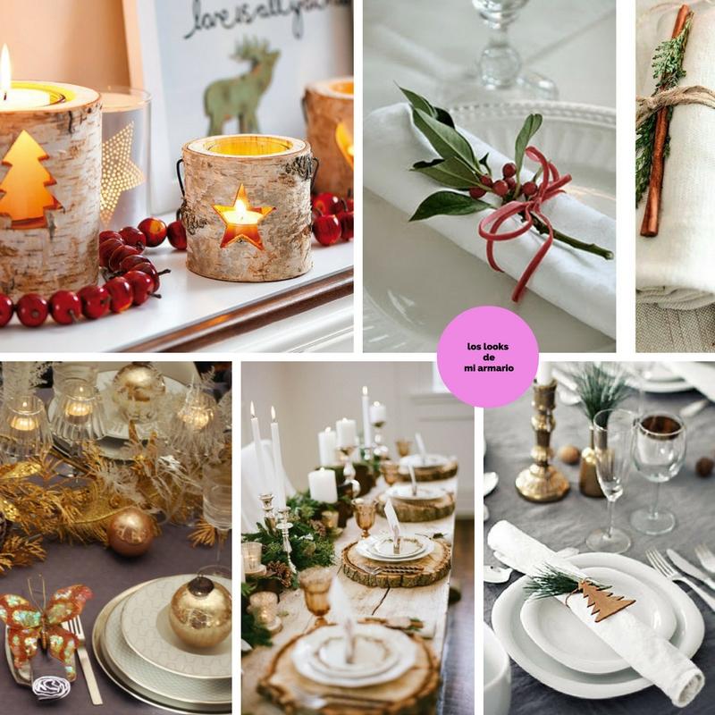ideas de como decorar la mesa de navidad