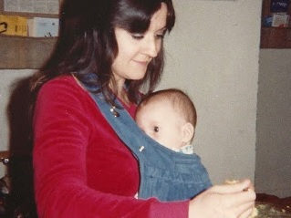 Image: Cuddle Baby Carrier, by BorntoLove.com, 1980