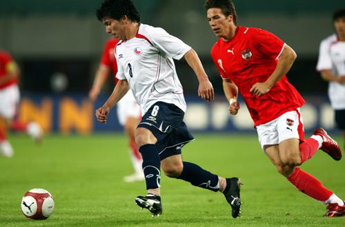 Austria y Chile en Turnier der Kontinente 2007, 11 de septiembre