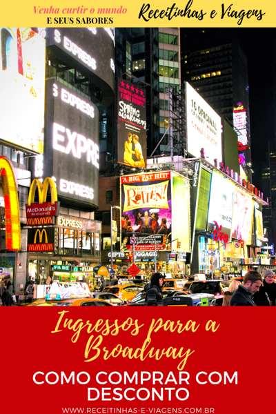 Como comprar ingressos com desconto para a Broadway em Nova York