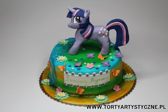 tort kucyk my little pony