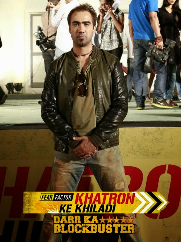 Ranvir Shorey in Fear Factor Khatron Ke Khiladi