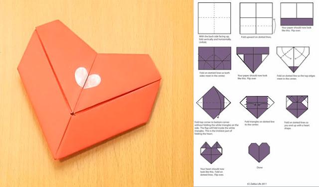 Cara Membuat Hiasan Dinding Kamar dari Kertas Origami Sendiri